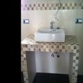 Mueble lavabo de obra