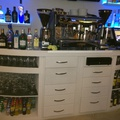 Mueble pladur en bar