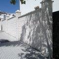 muro de bloque de 40 x 20 x 20