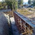Muros de hormigon visto ambas casas (2011)