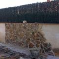 Muros revestidos de piedra