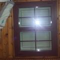 Ventana RPT fabricada e instalada en casa de Madera