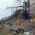 Obras de fontanería y saneamiento