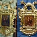 Óleo sobre cobre y marco dorado de época.
