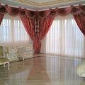 ondas y corbatas con cortinas en seda
