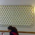 Paneles tapizados en capitone para el Hotel Carmen de Guadix - Granada -
