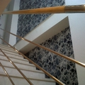 papel tres tintas en escalera