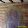 Pared de salon en pintura decorativa rustica texturon naturpiedra