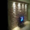 pared piedra artificial