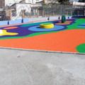 Parque infantil con EPDM + ligante.