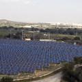 parque solar Amposta(Tarragona)