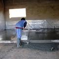 Pavmentando el suelo de garaje
