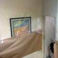 Pintado casa - protección de mobiliario