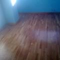 Pintado de habitación y barnizado suelo laminado