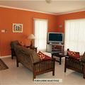 pintura comedor anaranjado