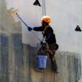 pintura en exterior colgante