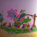 pintura en habitación infantil