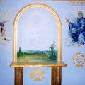 Pinturas Altar Iglesia de Santa Ana (Casas de Gallego, El Palmar).