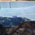 piscina limpia y vacia