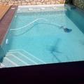 piscina rectangular- semidesbordante.