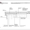 Plano de detalle de ejecución de solado en perímetro de piscina
