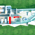 Plano de la planta superior de la vivienda -1