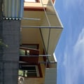porche a medida ( estructura hierro y cubierta y fachada de panel sandwich