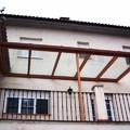 preparacion de cierre de techado en balconada