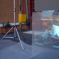 Proyectar sobre cristal