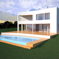 proyecto de vivienda frente al mar
