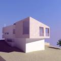proyecto de vivienda unifamiliar en el campo