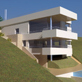proyecto de vivienda unifamiliar junto al mar