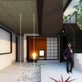 Proyecto y reforma de patio inglés en vivienda unifamiliar