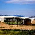 Puente sobre via de ferrocarril en Casetas, Zaragoza