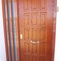 puerta acorazada con fijo lateral
