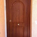 Puerta Acorazada G3 aluminio+PVC foliado.