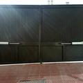 Puerta automatica de dos hojas