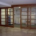 puerta corredera en madera maciza