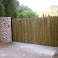 Puerta corredera para fincas , parcelas, terrenos