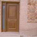 Puerta de calle entrada a la vivienda