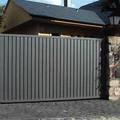 Puerta de garaje para urbanización