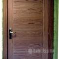 puerta de paso roble lisa