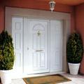 puerta entrada pvc Schüco