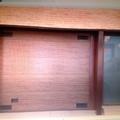 Puerta seccional imitacion a madera