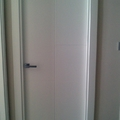 puertas lacadas ranuradas