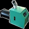 Quemador de biomasa para caldera de gasoil