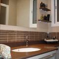 Baño de diseño con mueble a medida