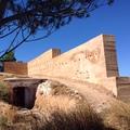 realizacion de muros exteriores en el castillo de Moyuela