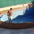Reforma en piscina