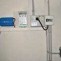 Regulación y controles de una pequeña instalación de energia solar fotovoltaica.